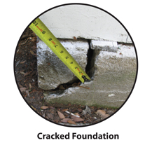 Foundation Solutions can fix cracked foundations.